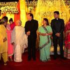 Amitabh,Jaya,Abhishek And Aishwarya Attend A Family Wedding