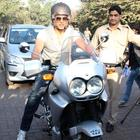 Akshay Kumar At Ride For Safety Bike Rally Event