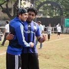 Ranbir and Abhishek Clicked At The ASFC Game