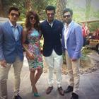 Arjun,Priyanka And Ranveer At Dubai International Film Festival to Launch  Gunday Trailer