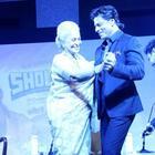 Shahrukh Khan,Amitabh Bachchan At NDTV Solutions