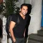 Abhay Deol Snapped At Olive Bar Photos