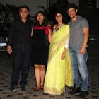 Aamir And Kiran At Mansoor Khan's Wedding Anniversary Celebration