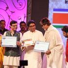 Amitabh And Raj Thackeray At MNCS 7th Anniversary Function