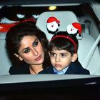 Kareena With Family Christmas Midnight Mass Party 2013