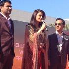 Aishwarya Rai And Manju Warrier At Dubai Kalyan Jewellers Event
