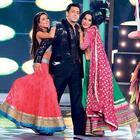Salman Khan At Grand Finale Of Bigg Boss Season 7 Set