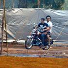 Salman Khan Snapped Enjoying A Bike Ride With Sajid Nadiadwala