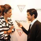 Priyanka Chopra Visits The GUESS Store In London
