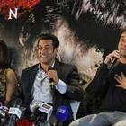 Salman,Daisy,Sana And Sohail Khan Promote Jai Ho In Dubai