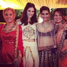 Sonam Kapoor Attends Cousin Brother'S Wedding Ceremony