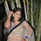 Telugu Actress Tanusha In Saree At Present Love Audio Launch Event