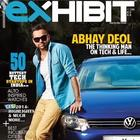 Abhay Deol On The Covers Exhibit Feb 2014