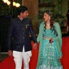 Ahana Deol And Vaibhav Vora's Grand Sangeet Ceremony