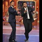 Ranveer,Priyanka And Arjun At Comedy Nights With Kapil To Promote Gunday