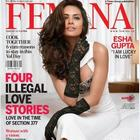 Esha Gupta Covers Femina Feb 2014 Issue