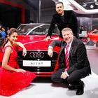 Ileana D'Cruz Launches Audi A3 Cabriolet At Auto Expo 2014