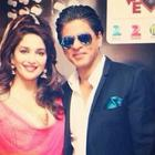 Shahrukh And Madhuri At Temptation Reloaded 2014 Press Conference