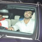 Ranveer And Arjun Visit Chandan Theatre For Gunday Promotion