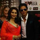 SRK And Madhuri Dixit At The Temptation Reloaded Press Conference