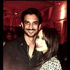 Sushant Celebrates V-Night With Ankita And Friends
