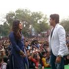 Vidya Balan and Farhan Akhtar Promote SKSE In Delhi