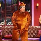 Juhi And Madhuri Promoting Gulaab Gang On The Sets Of Comedy Nights With Kapil