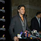 Shahrukh Khan At Annual Colors Party 2014