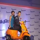 Imran Khan Unveils Piaggio Vespa Automatic S Scooter
