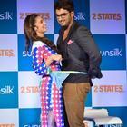 Arjun Kapoor And Alia Bhatt At 2 States Promotion In Sunsilk Event