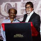 Big B And Others Celebs At The Launch Of The Film Kochadaiiyan Of Rajni At Mumbai