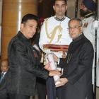 Vidya Balan And Kamal Haasan Receive Padma Awards