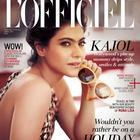 Kajol Devgan Photo Shoot For L'Officiel Magazine April 2014 Issue