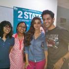 Alia And Arjun Entertain The Crowds In Bangalore
