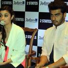 Alia Bhatt And Arjun Kapoor Promote 2 States