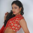 Hari Priya Hot Red Saree Latest Pics