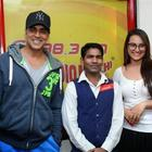 Akshay And Sonakshi At 98.3 FM Radio Mirchi To Promote Their Movie Holiday