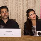 Salman Khan,Jacqueline Fernandez and Randeep Hooda At Kick Press Conference