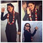 Kareena Kapoor Khan At Tampa Bay Airport For IIFA