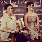 Sonam and Namrata Soni Reveal The LOral Paris India Cannes 2014 Collection