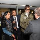 Amitabh Bachchan Arrives For IFFM 2014 At Melbourne