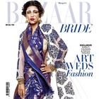 Shruti Haasan Flaunts Bridal Look On Harper's Bazaar May 2014 Issue