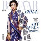 Shruti Haasan Flaunts Bridal Look On Harper's Bazaar May 2014 Issue