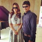 Neha Dhupia Innaugrating Alpha Business Center In Ahmedabad