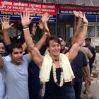 Tiger Visits Shiv Ki Nagri For Film Heropanti Promotion