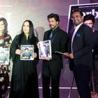 Shahrukh Khan Unveils Forbes Magazine Middle East Cover At Dubai