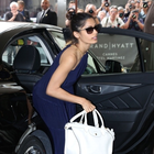 Freida Spotted Outside Hotel In Cannes