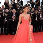 Freida Pinto At The Homesman Premiere At The 67th Cannes Film Festival
