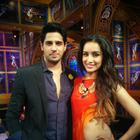 Sidharth And Shraddha Promote Ek Villain At The IPL Semi-Finals