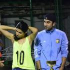 Ranbir Kapoor Returns From Cape Town For A Football Match With Cousin Armaan
